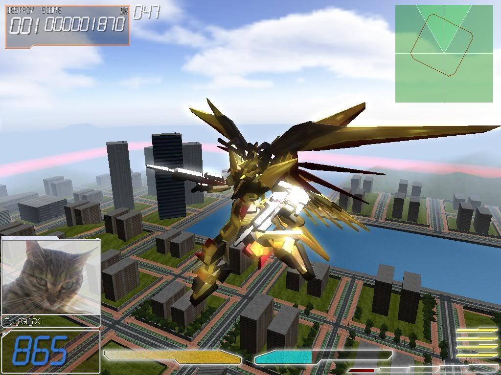 Ultimate Knight WindomXP - Gundam Đại Chiến Shot003