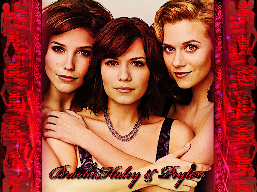 Peyton , Brooke , Haley Brooke-Haley-Peyton-one-tree-hill-3
