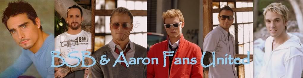 Backstreet Boys & Aaron Fans United