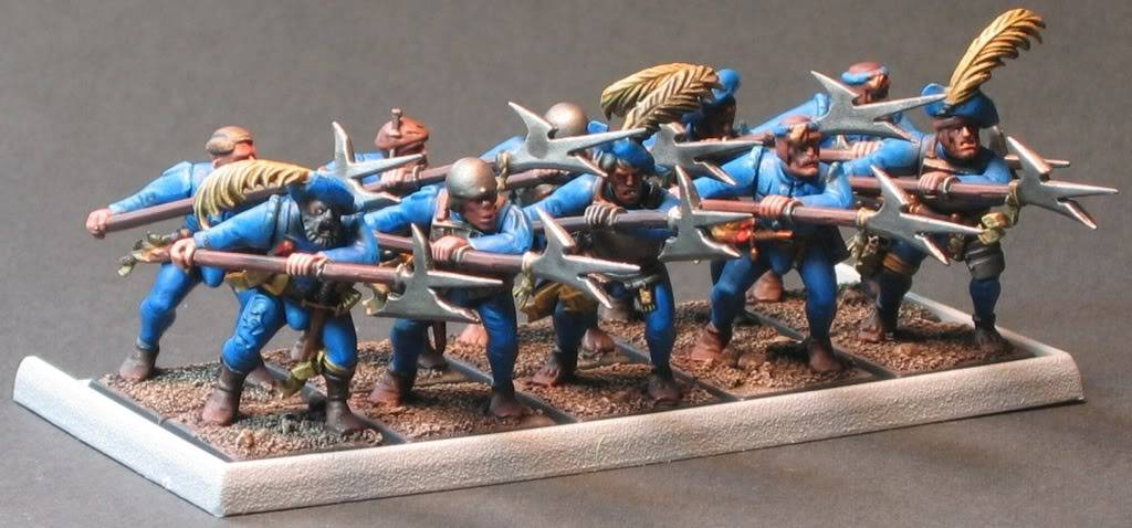 Ajax's WHFB models.  An army in progress. EmpireHalberdDetachment2