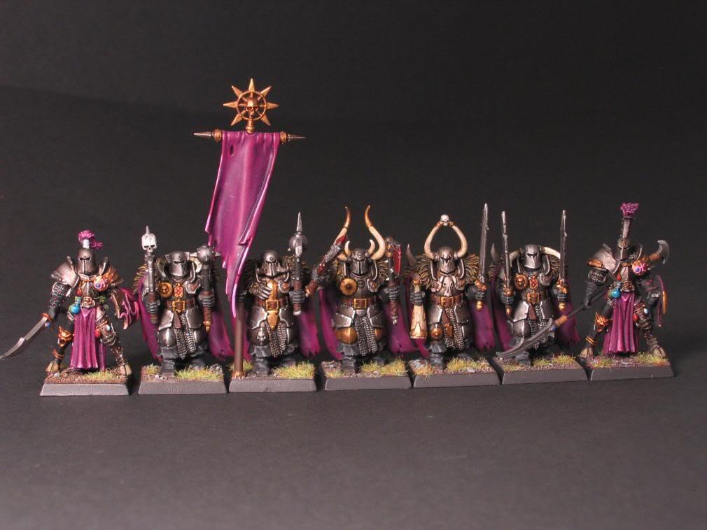 Slaanesh army - select models.  WHFB IMG_2316