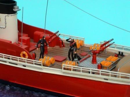 US Coast Guard 1:76 (Lindberg) Taucher01