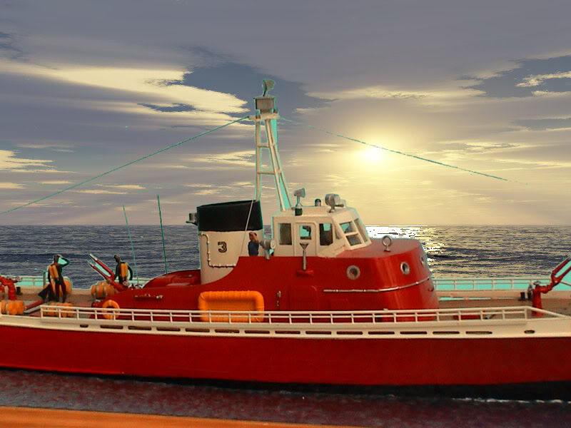 US Coast Guard 1:76 (Lindberg) Boat03