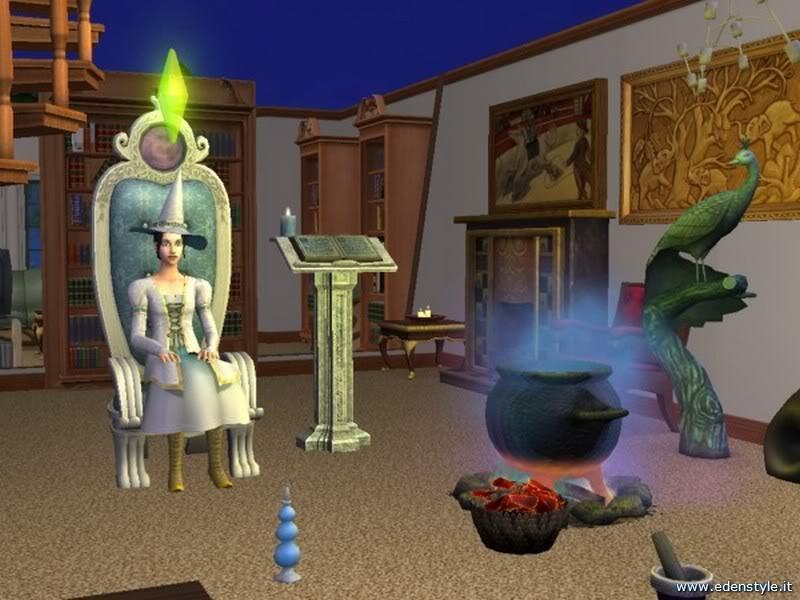 Los Sims 2 Comparten Piso - Página 2 Bruja