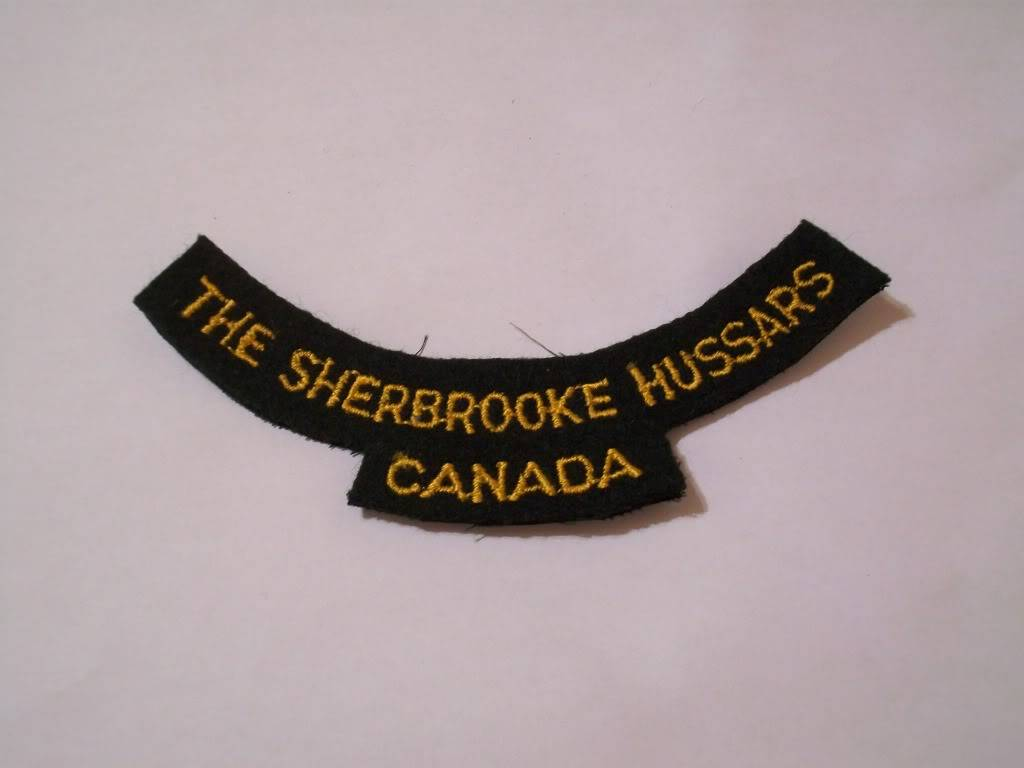 Unknown Sherbrooke Hussars Flash 100_3462