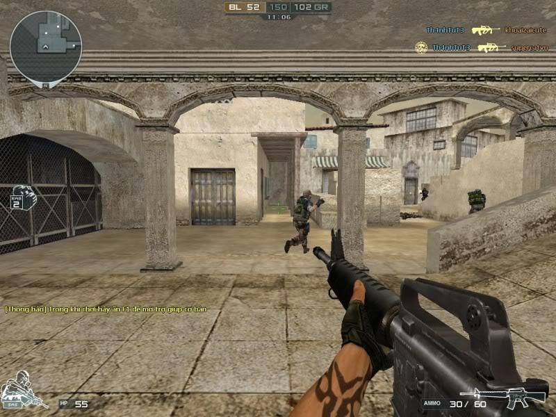 Kho súng trong cf đợt 2 M16