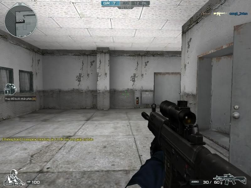 Kho súng trong cf đợt 2 Sg552