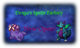 Drago's Mass Produced Sprite Factory and Signature Shop Spriteshopbanner
