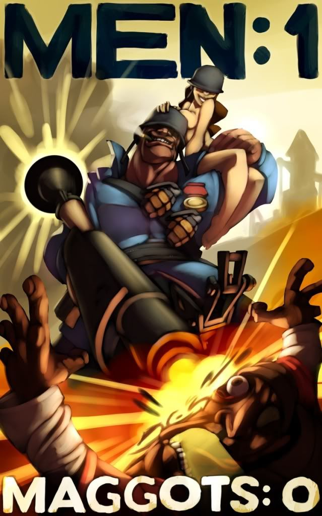 Soldier vs Demoman: Which one is better? Manly_soldier