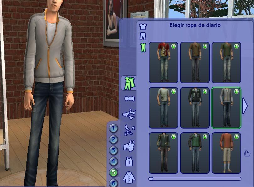 Packs de los Sims 2: Dudas y comentarios Ropa