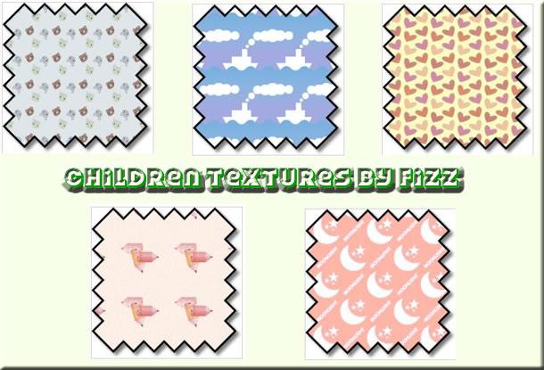 Texturas/Patterns Set1Infantil