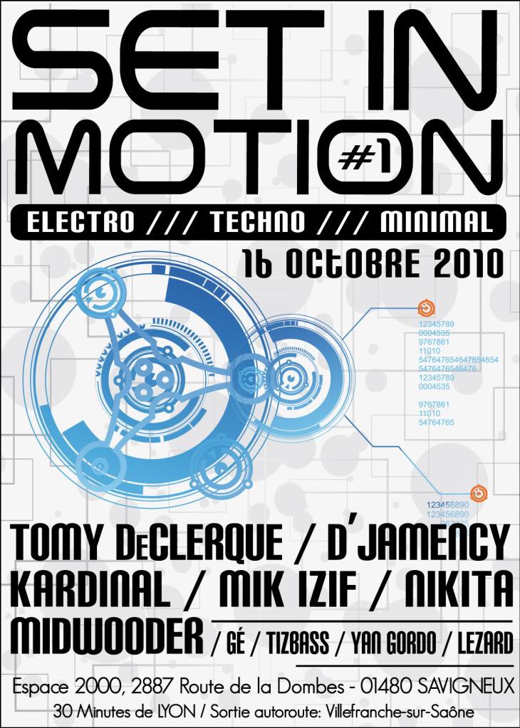 16/10/2010 - SET IN MOTION .... Set1