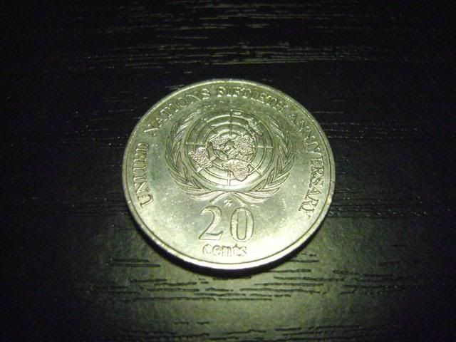 Our Australian 20c coins we have 1995