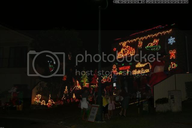 Xmas Lights 2009 by Simpsons Photographics DSC01278