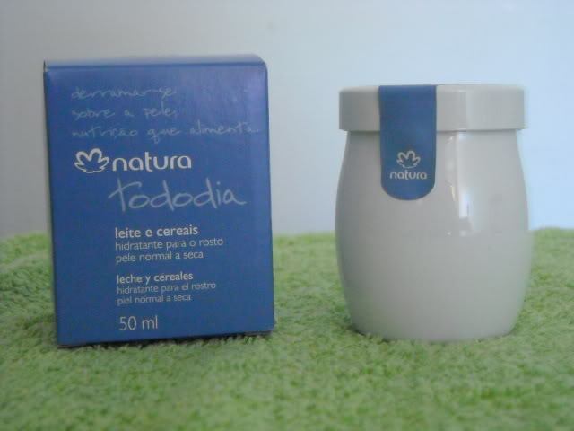 NATURA TodDia-HidratRosto-LeiteECereal
