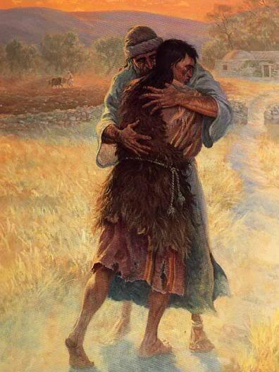 The Lord Is My Shepherd ( Illustrated) Lukefifeteeneleventhroughthirtytwo