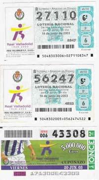 HISTORICO: Cromos Prueba-billetes