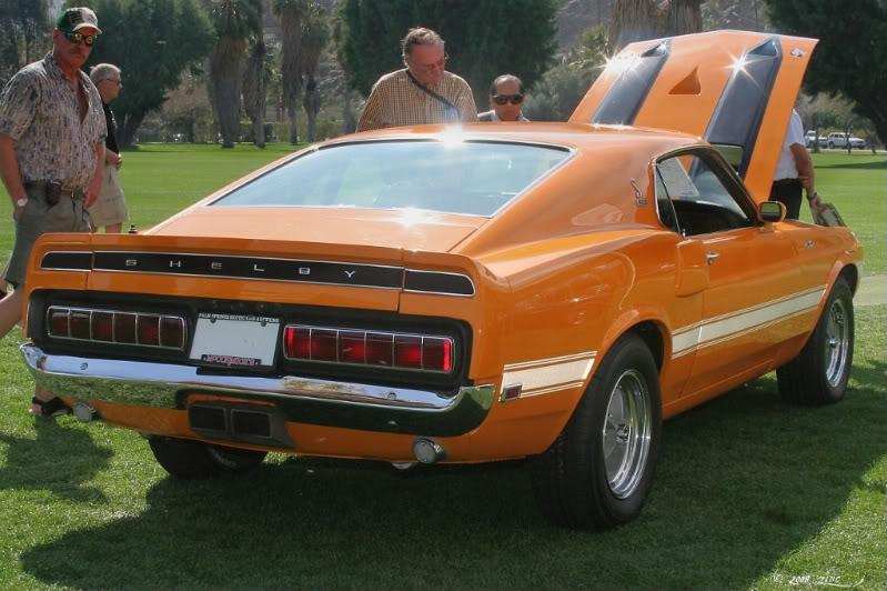 Mustang GT500 1970 **terminer** Indianfirearriere