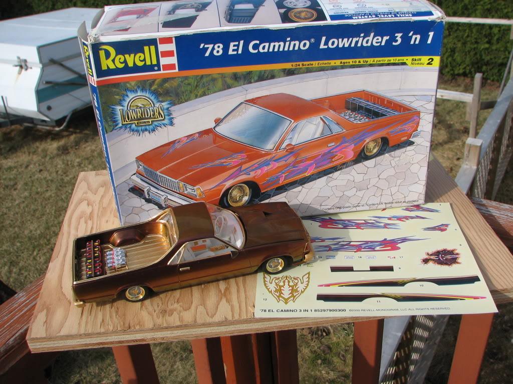 ElCamino Lowrider '78 Revell IMG_4765