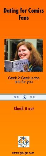 Ads on the interwebz Geek2geek