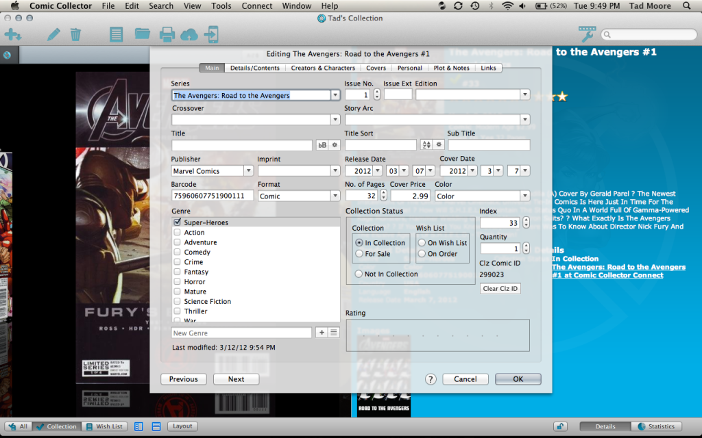 What Do You Use To Catalogue Your Collection? ScreenShot2012-03-13at94905PM