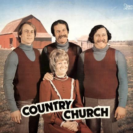 Las peores portadas de la historia de la ¿música? Country-Church