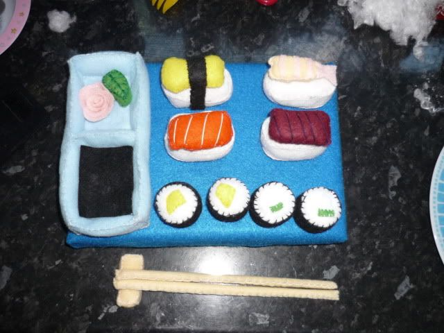 My sushi set and more July014