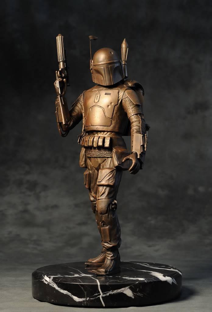 Boba Fett Bronze Statue DSC_1575