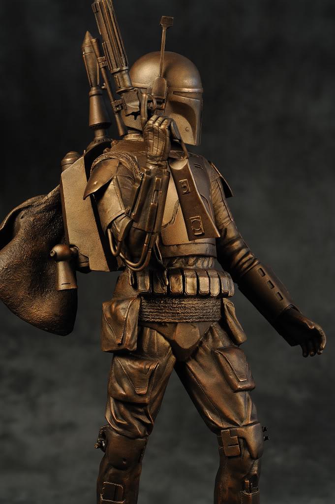 Boba Fett Bronze Statue DSC_1591