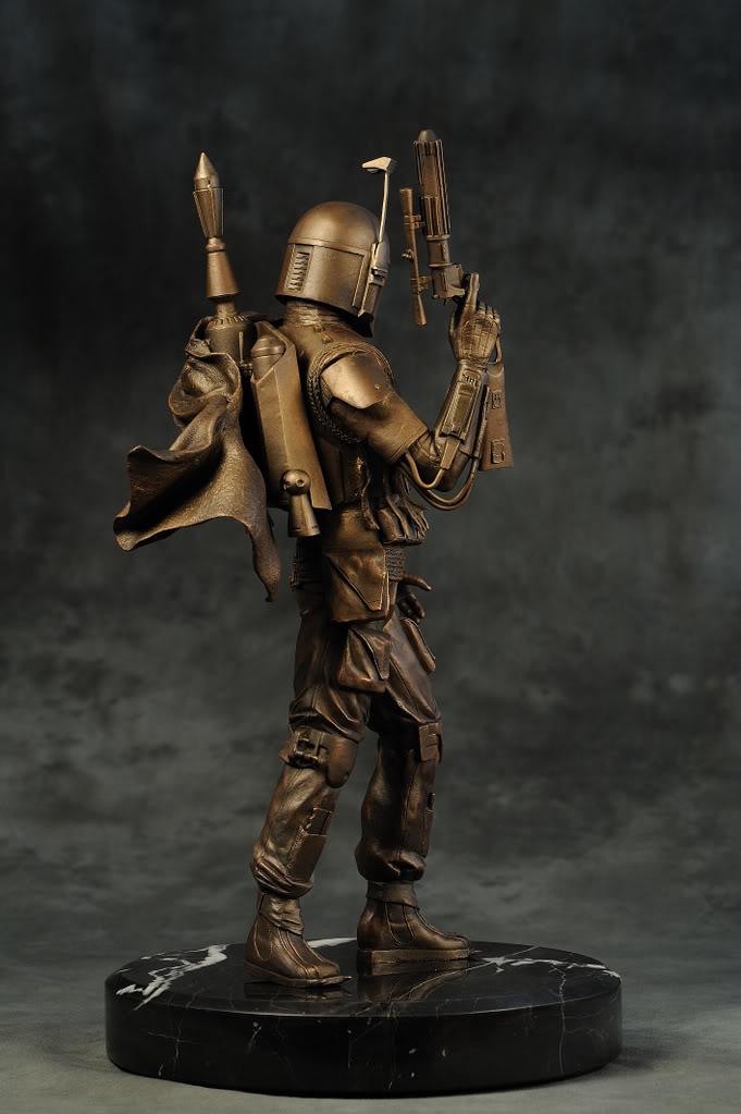 Boba Fett Bronze Statue DSC_1596