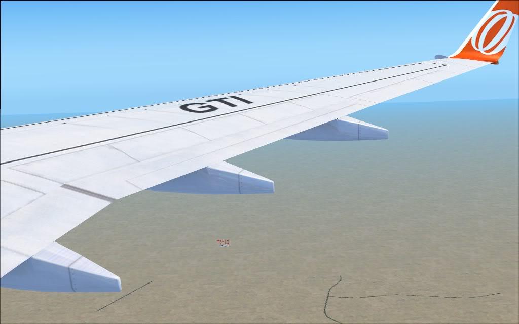 [FS2004] PR-GTI (737-800 GOL) em Continente Africano... A001