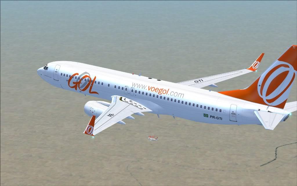 [FS2004] PR-GTI (737-800 GOL) em Continente Africano... A003