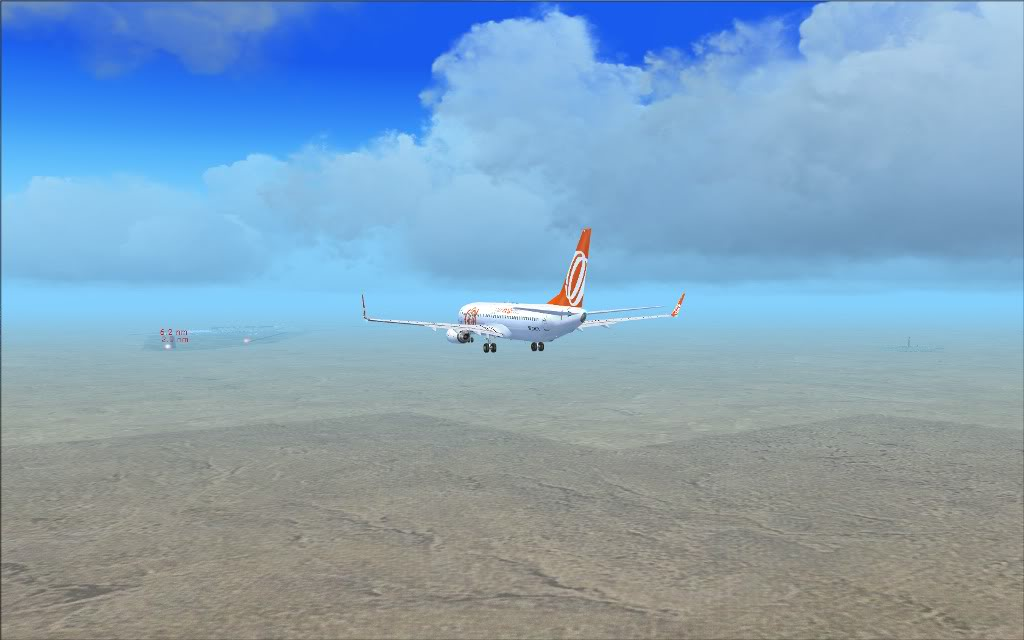 [FS2004] PR-GTI (737-800 GOL) em Continente Africano... A004