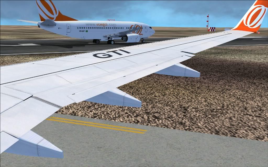 [FS2004] PR-GTI (737-800 GOL) em Continente Africano... A005