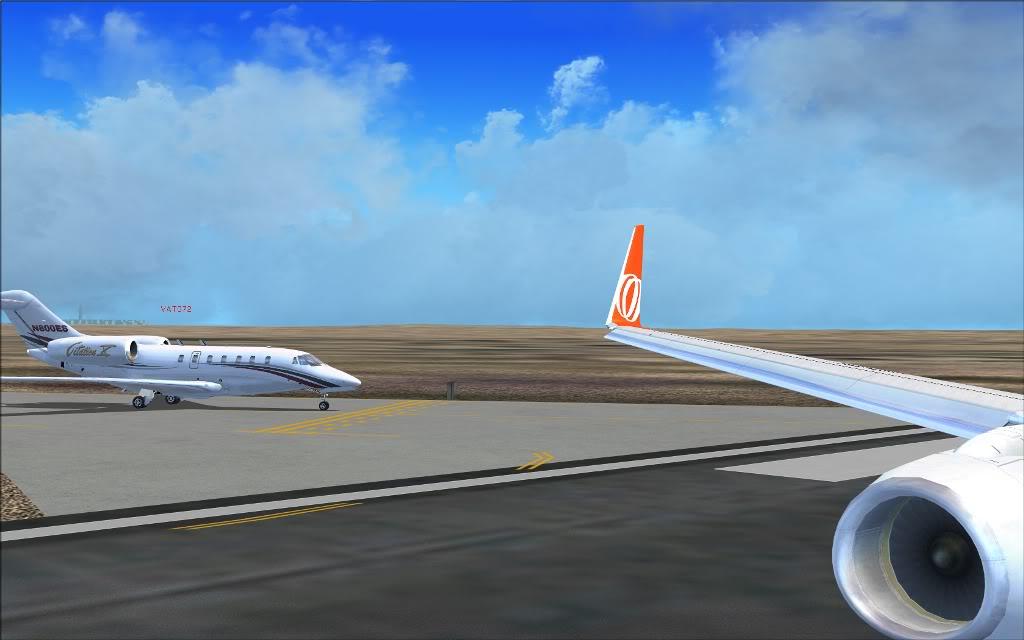 [FS2004] PR-GTI (737-800 GOL) em Continente Africano... A006