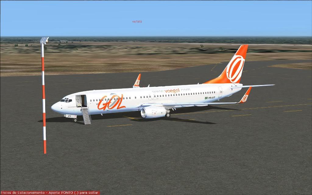 [FS2004] PR-GTI (737-800 GOL) em Continente Africano... A009