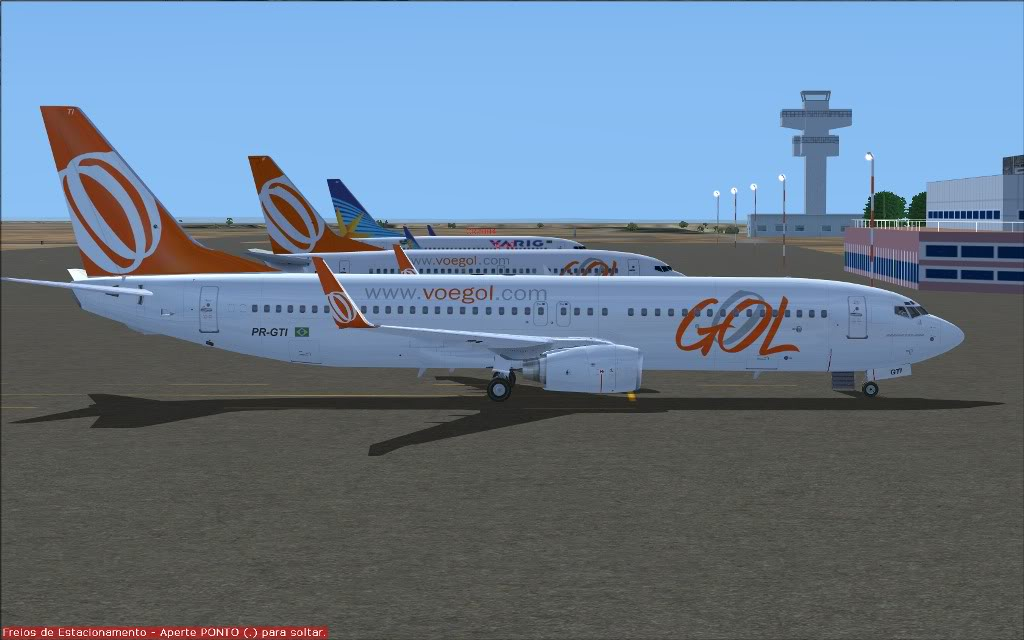 [FS2004] PR-GTI (737-800 GOL) em Continente Africano... A012