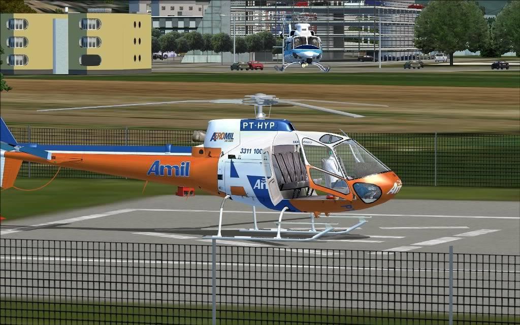 [FS2004] Voando sem Destino Certo..  F009