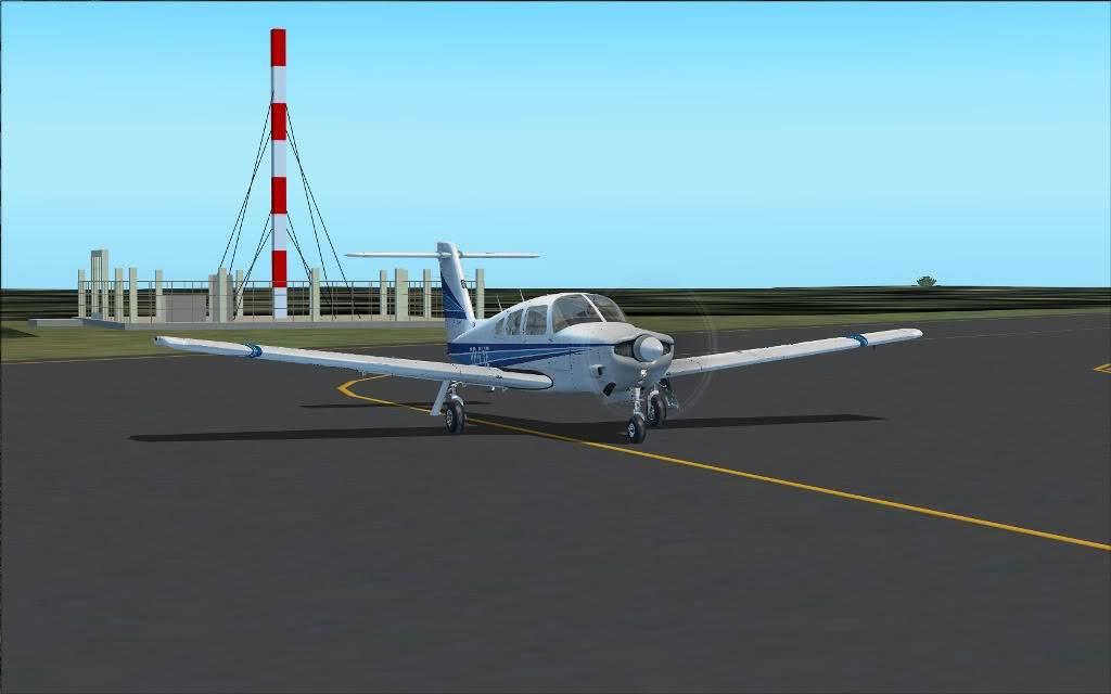 [FS2004] SBMG to SBDN  em  VFR 0002
