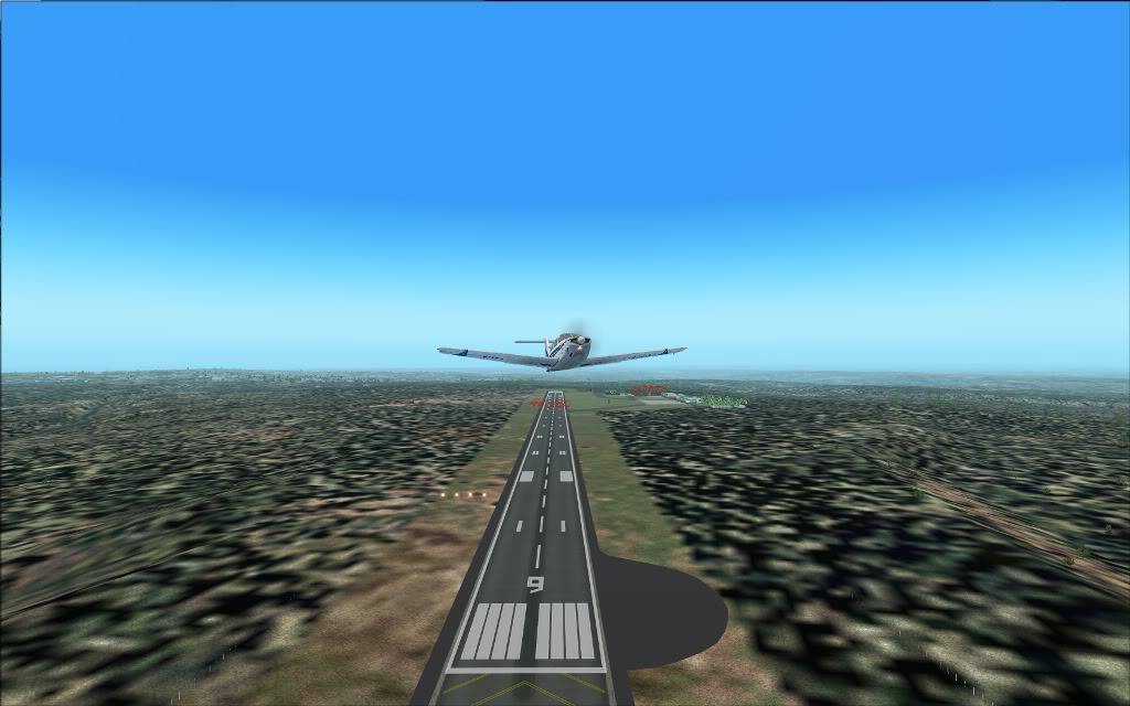 [FS2004] SBMG to SBDN  em  VFR 0005