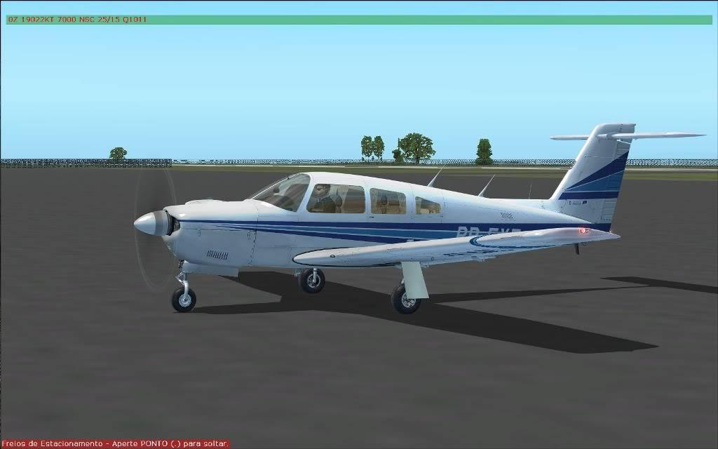 [FS2004] SSAP to SBMG  VFR (nortão do Paraná) PR001