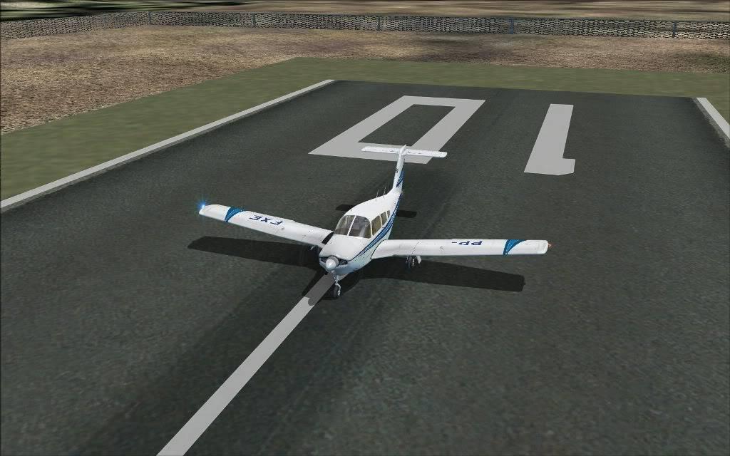 [FS2004] SSAP to SBMG  VFR (nortão do Paraná) PR007