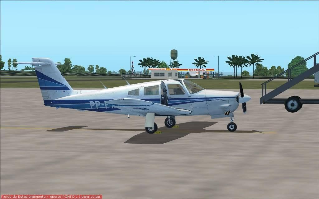 [FS2004] SSAP to SBMG  VFR (nortão do Paraná) PR014
