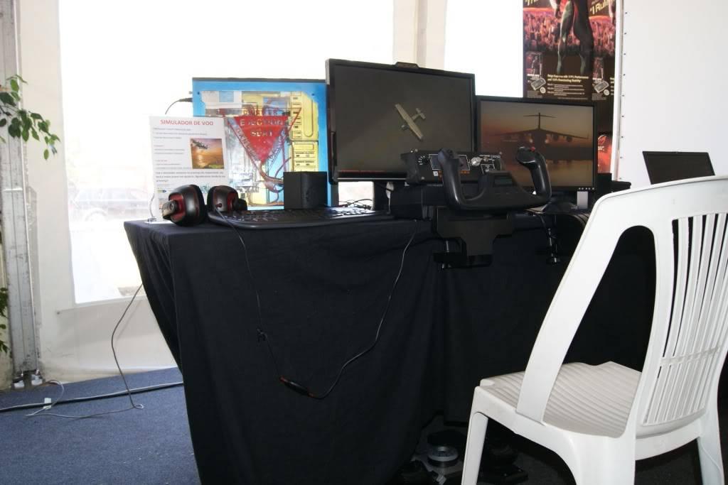 """XLPARTY MAIA 2010 - Portugal """"Simulador de Voo!!"""" 0001"""