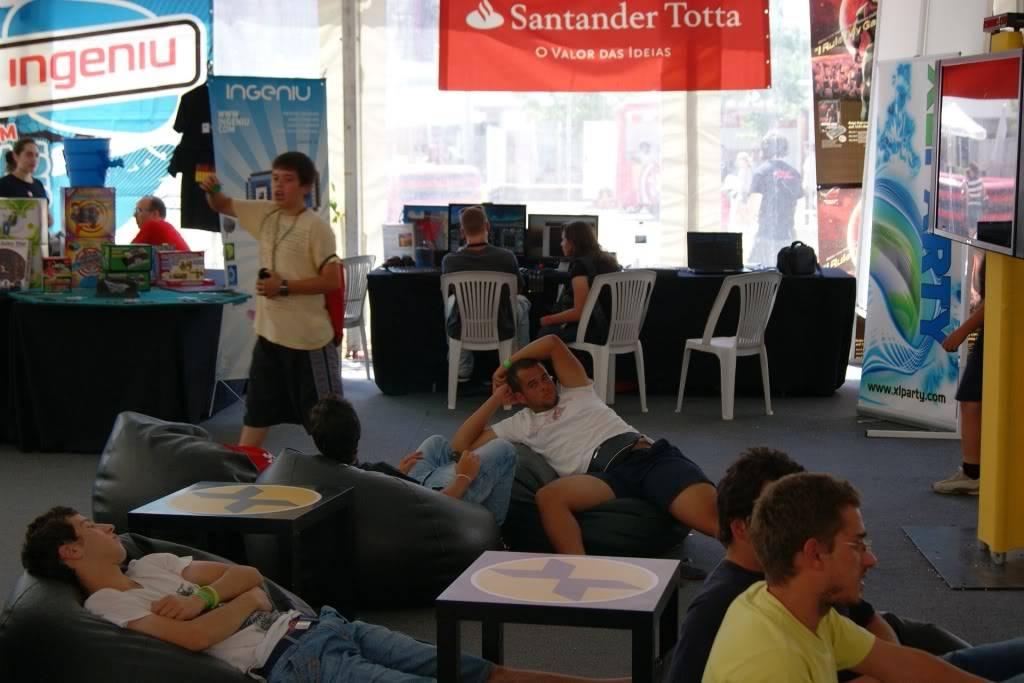 """XLPARTY MAIA 2010 - Portugal """"Simulador de Voo!!"""" 0018"""