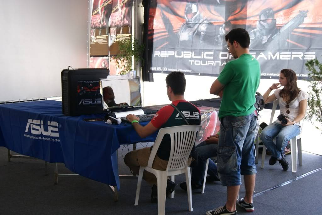 """XLPARTY MAIA 2010 - Portugal """"Simulador de Voo!!"""" 0021"""