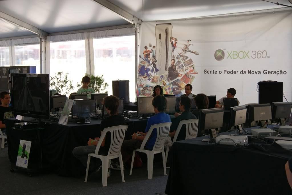"""XLPARTY MAIA 2010 - Portugal """"Simulador de Voo!!"""" 0022"""