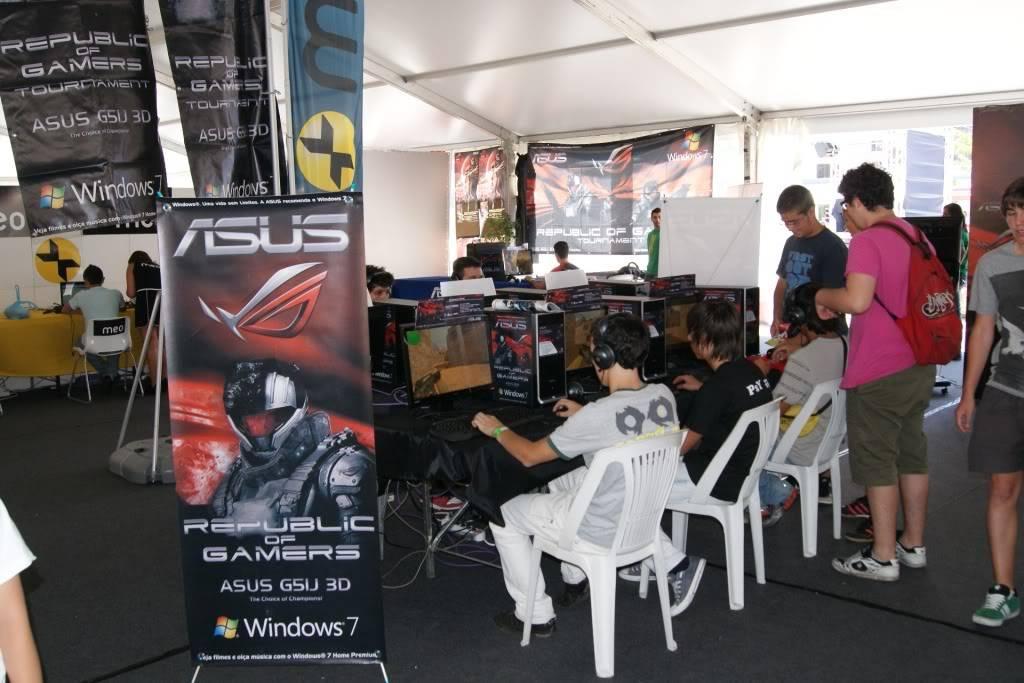 """XLPARTY MAIA 2010 - Portugal """"Simulador de Voo!!"""" 0023"""