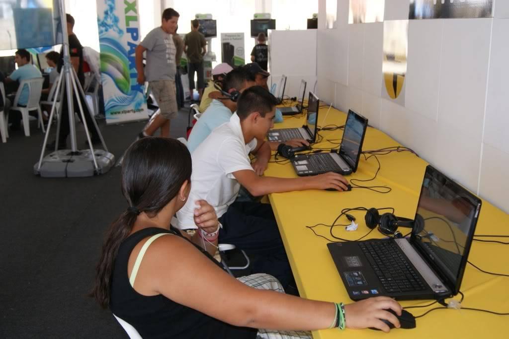 """XLPARTY MAIA 2010 - Portugal """"Simulador de Voo!!"""" 0029"""