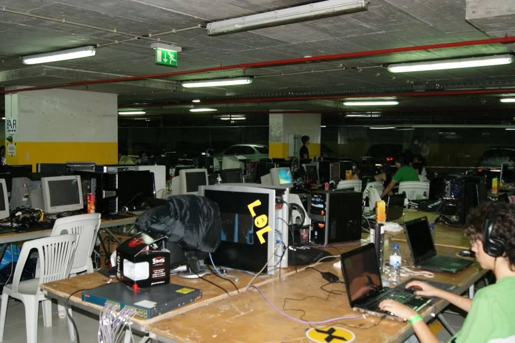 """XLPARTY MAIA 2010 - Portugal """"Simulador de Voo!!"""" 0040"""